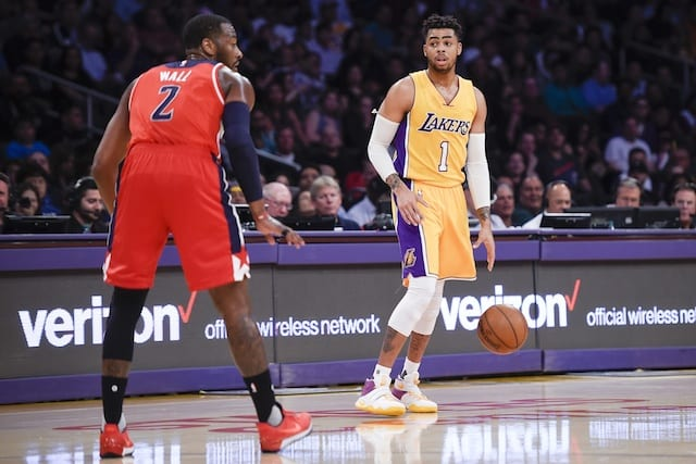 Game Recap: Lakers Collapse In Fourth Quarter, Fall To Wizards