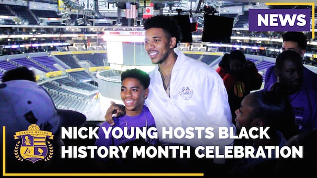 Nick Young Hosts Black History Month Celebration For Underprivileged Youth