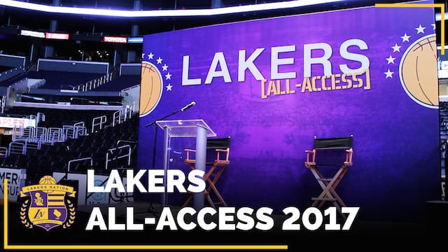 Video: Los Angeles Lakers All-access, Magic Johnson Takes Over!