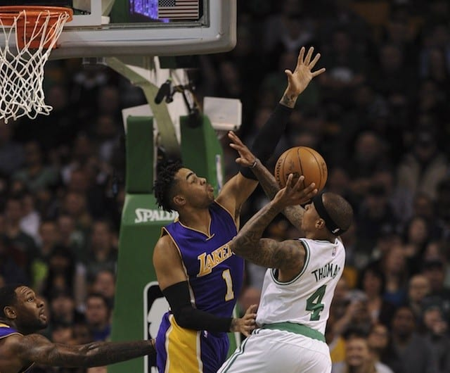 Lakers Vs Celtics Game Preview: L.a. Looks To Snap Five-game Skid