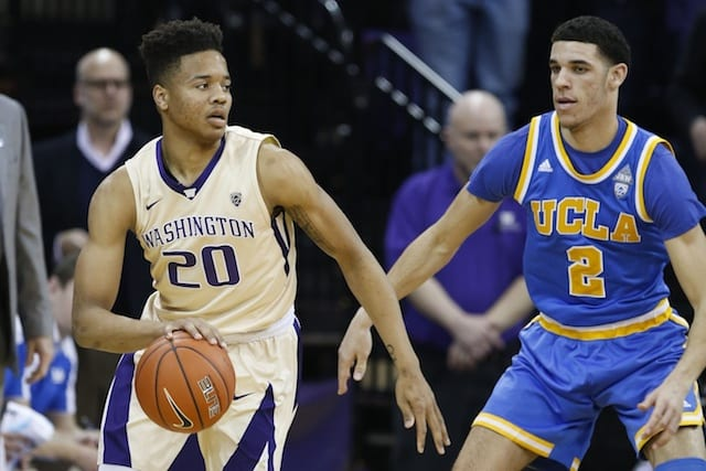 Ucla's Lonzo Ball On Markelle Fultz: 'i Feel I'm Better Than Him'