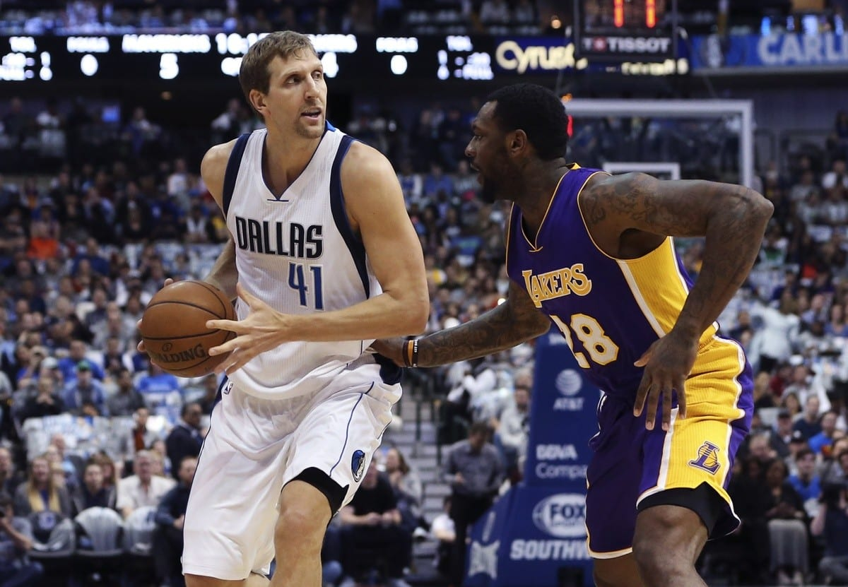 Game Recap: Dirk Nowitzki Joins 30,000 Point Club As Mavericks Blow Out Lakers Again