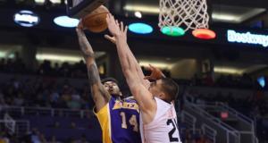 Brandon Ingram Alex Len Lakers Suns