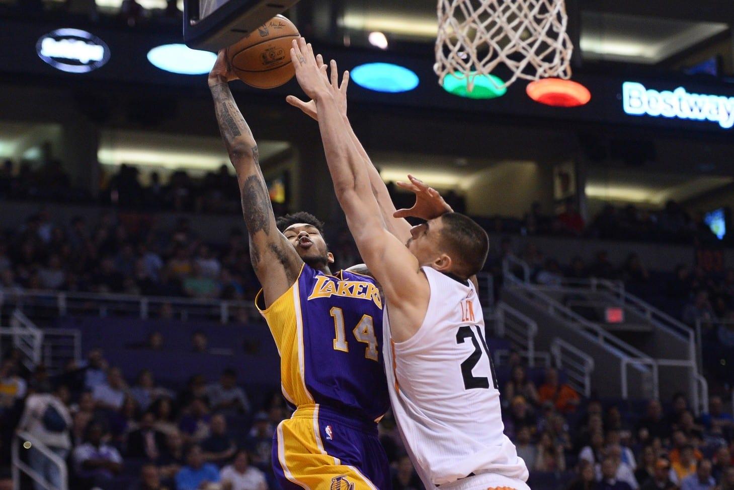 Fantasy Basketball: Benefactors Of The Lakers Vs. Suns Tank Race