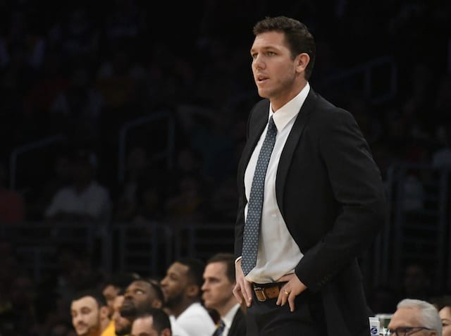 Jeanie Buss Believes Luke Walton Can Be Lakers Coach For 'next 10 Or 15 Years'