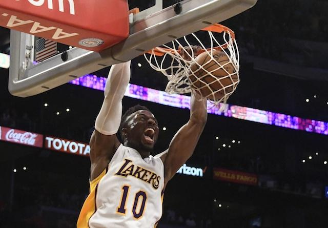 David Nwaba, Lakers