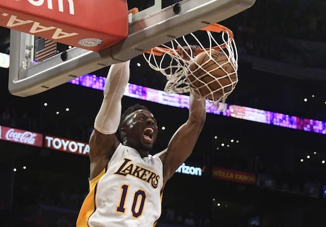 Lakers News: David Nwaba To Be Assigned To D-fenders For D-league Playoffs