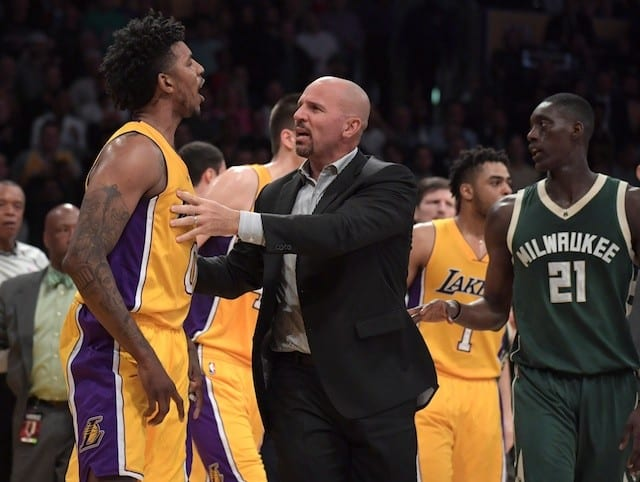 Lakers News: Nba Fines Nick Young, D'angelo Russell For Role In Altercation With Bucks