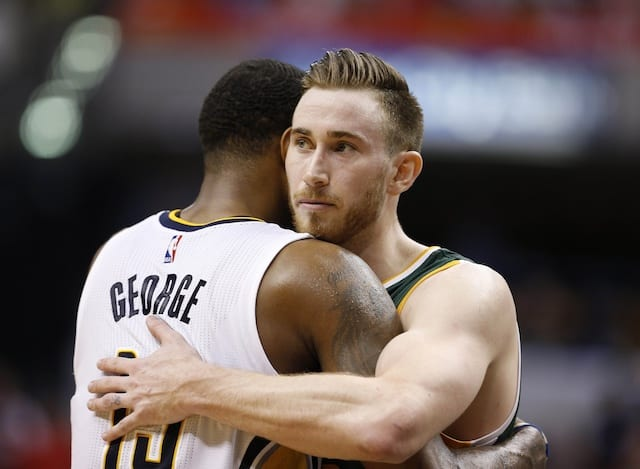 Nba Rumors: Paul George 'would Love To Play' Alongside Gordon Hayward