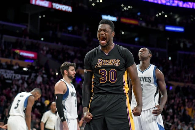 Julius Randle, Lakers