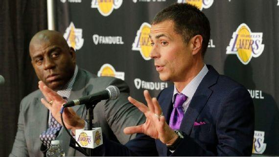New Lakers Gm Rob Pelinka Is Already Creating A Strategy For Future Free Agents