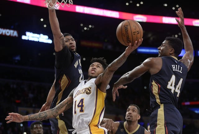 Lakers Vs. Pelicans Preview: L.a. Goes For Fifth Consecutive Victory In Final Home Game