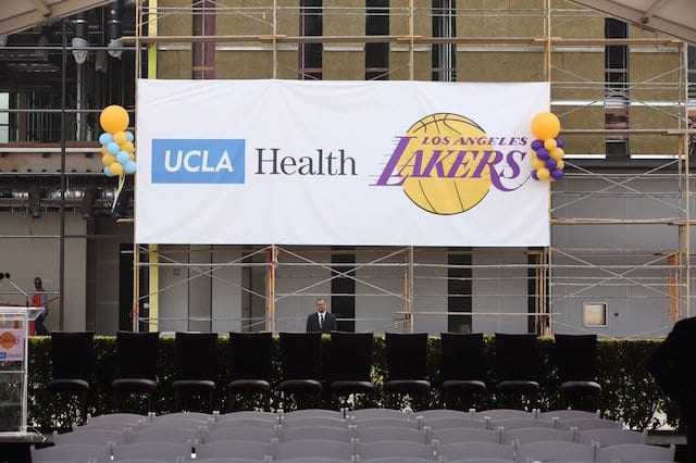 Photos: Lakers New Practice Facility Almost Finished