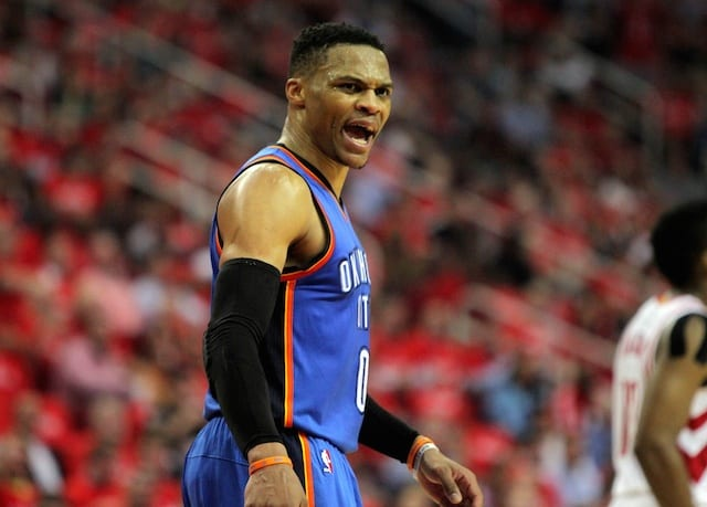 Nba Playoffs: Russell Westbrook Goes On Rant Defending Teammates Following Thunder Loss