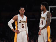 Jordan Clarkson Brandon Ingram Lakers
