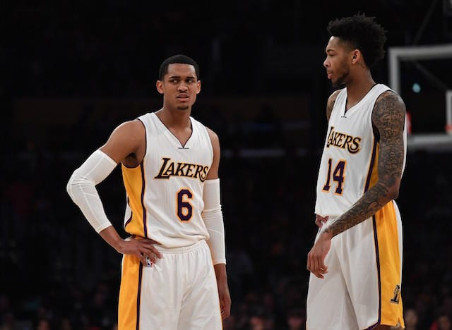 Jordan Clarkson Brandon Ingram Lakers