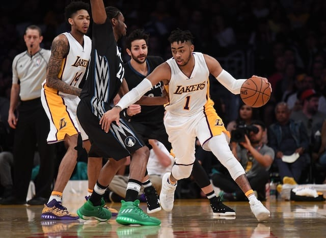 Lakers News: D'angelo Russell Expected To Miss Final Home Game