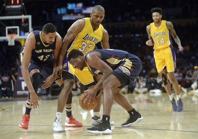 Game Recap: Metta World Peace Fuels Lakers To Fifth-straight Win