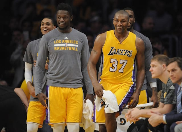 Metta World Peace Hopes Lakers Carry This Momentum Into Summer