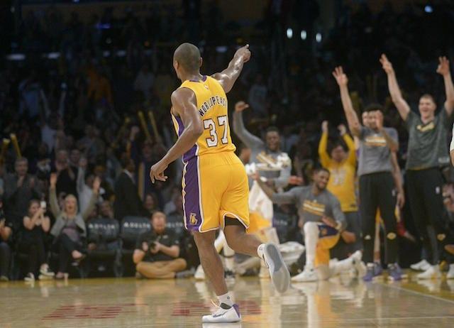 Metta World Peace Lakers
