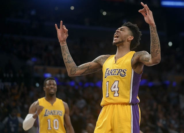 Lakers News: Front Office Hints At Brandon Ingram Working Out With Kobe Bryant