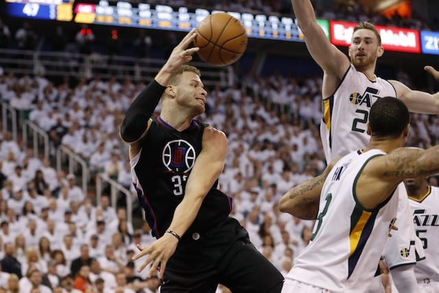 Nba News: Blake Griffin Out For Rest Of Playoffs With Toe Injury