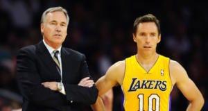 Steve Nash Mike D'Antoni Lakers
