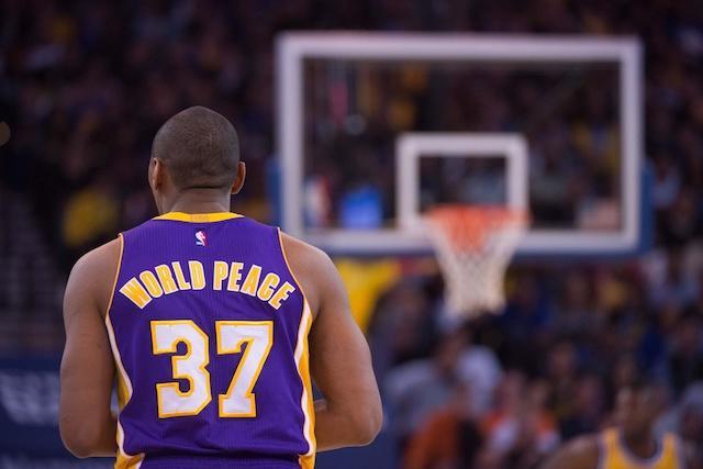 Metta World Peace, Lakers, Warriors