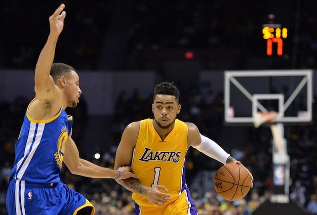 Lakers News: D'angelo Russell Set To Miss Season Finale Against Warriors