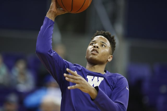 Markelle Fultz: 'i Believe I'm Going To Be The No. 1 Pick'