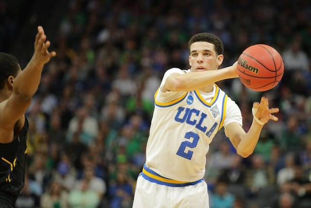 Lonzo Ball Would Rather Go To Lakers Than Be Number One Draft Pick