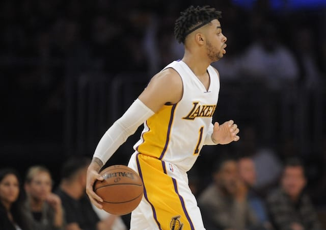 Lakers News: D'angelo Russell Gives His Thoughts On 'tanking'