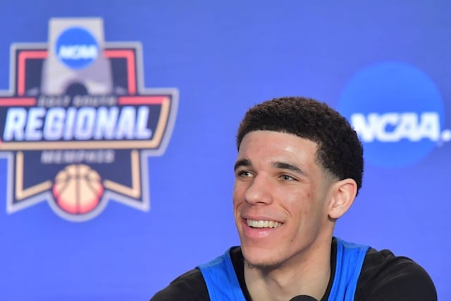 Ucla's Lonzo Ball Expected To Miss Nba Draft Combine