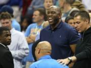 Magic Johnson, Lakers, Rob Pelinka