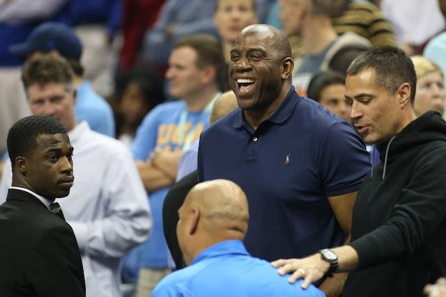 Magic Johnson, Lakers, Rob Pelinka