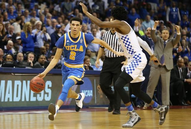 Lonzo Ball, UCLA, Kentucky, De'Aaron Fox