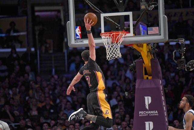 Larry Nance Jr. Lakers