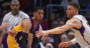 Jordan Clarkson Lakers Clippers