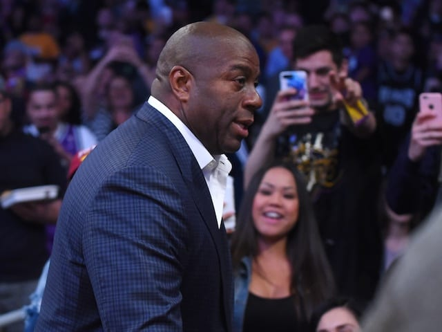 Magic Johnson Was Conflicted About Lakers' Winning Streak In Final Stretch