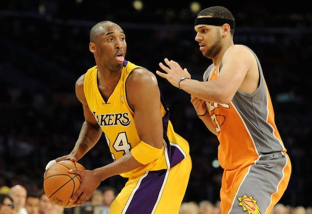 Jared Dudley Says Kobe Bryant Was More Difficult To Guard Than Lebron James Or Kevin Durant