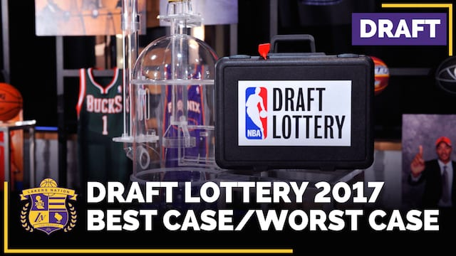 Lakers 2017 Draft Lottery Scenarios: Best Case/worst Case (video)