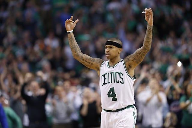 Lakers Legend Kobe Bryant Praises Celtics Guard Isaiah Thomas After 53-point Playoff Performance