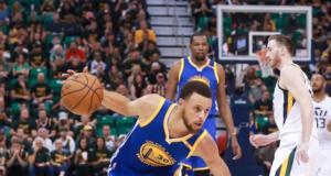 Stephen Curry, Warriors, Jazz