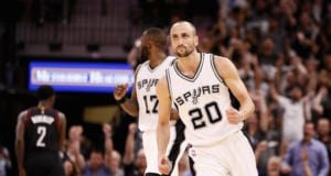 Manu Ginobili Spurs NBA