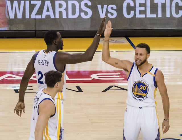 Nba Playoffs Highlights: Warriors Erase 25-point Deficit For Game One Win