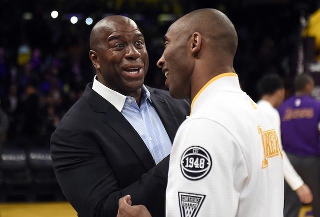 Magic Johnson, Lakers, Kobe Bryant