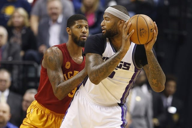 DeMarcus Cousins, Paul George, Pacers