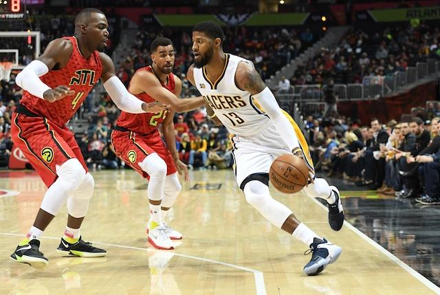 Paul George, Pacers, Hawks