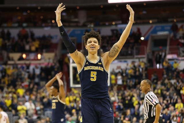 Nba Draft Rumors: Michigan Forward D.j. Wilson To Remain In Draft