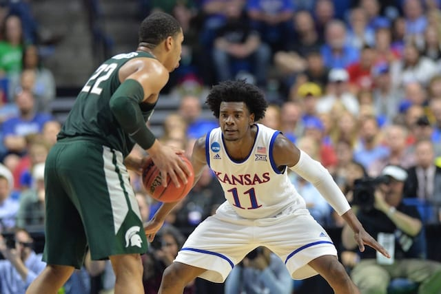 Josh Jackson Lakers Kansas